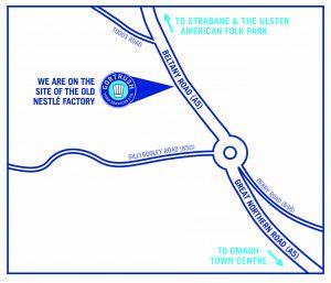 GORTRUSH MAP